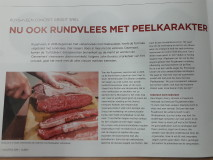 Ruyghveen rund in Vlees+ magazine